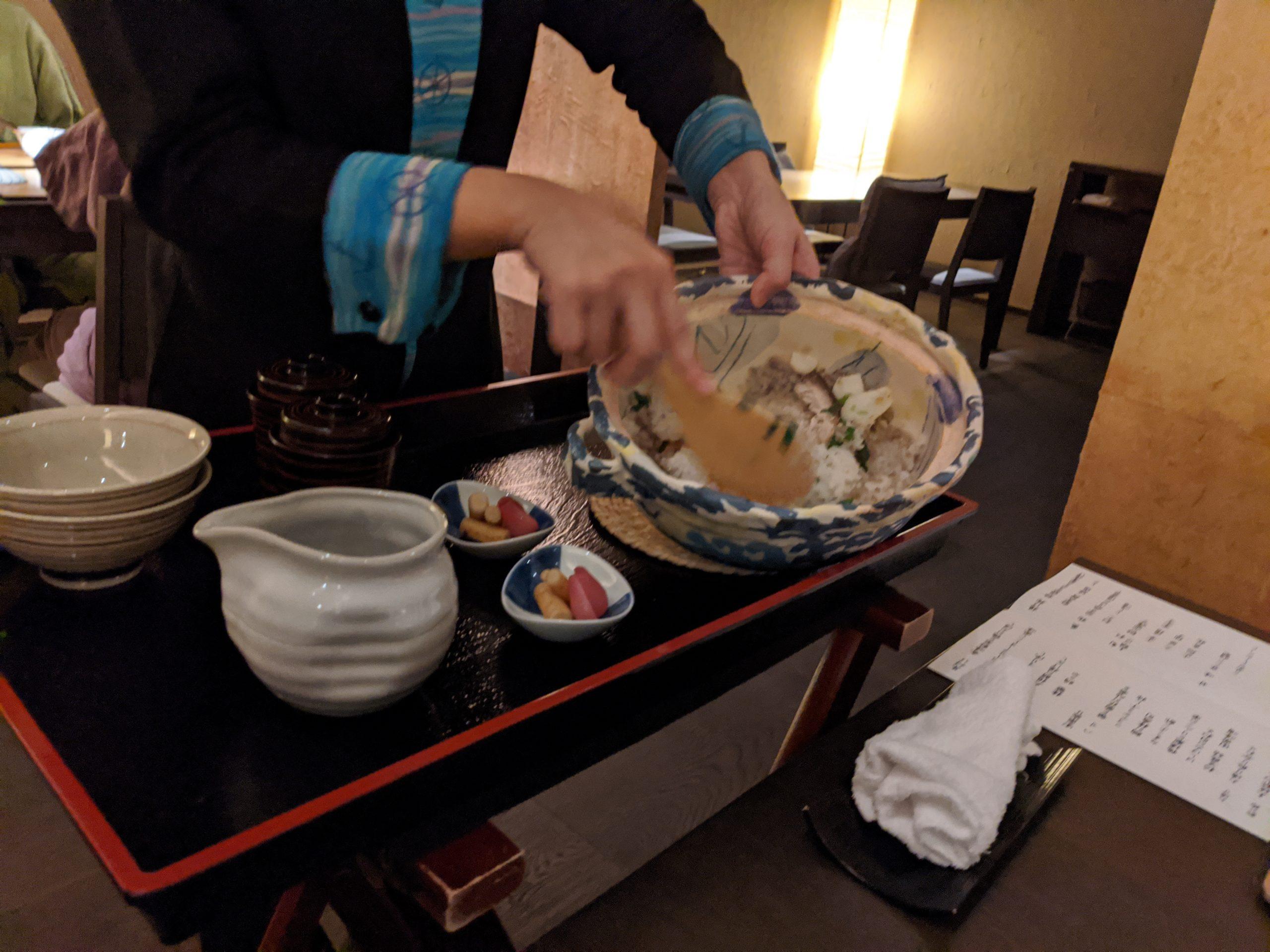 星野リゾート界アンジン夕食7