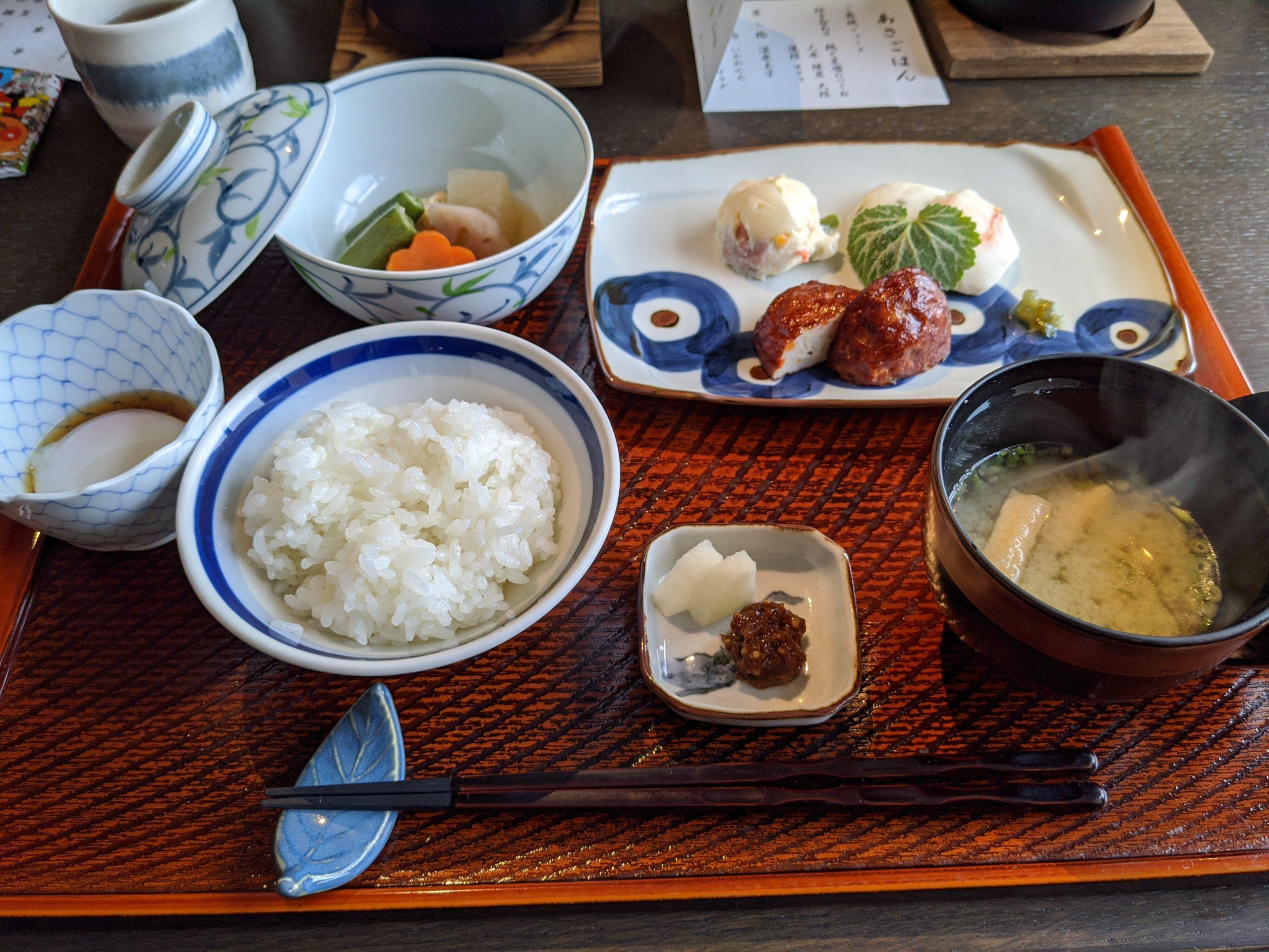 星野リゾート界アンジン朝食